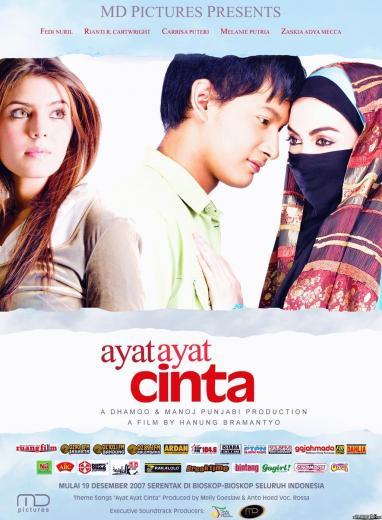 Poster Film Ayat AyatCinta