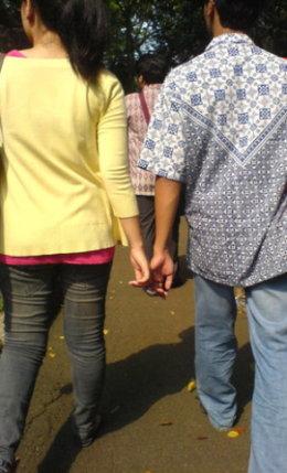 Pasangan 1 - Rani dan Dhimas