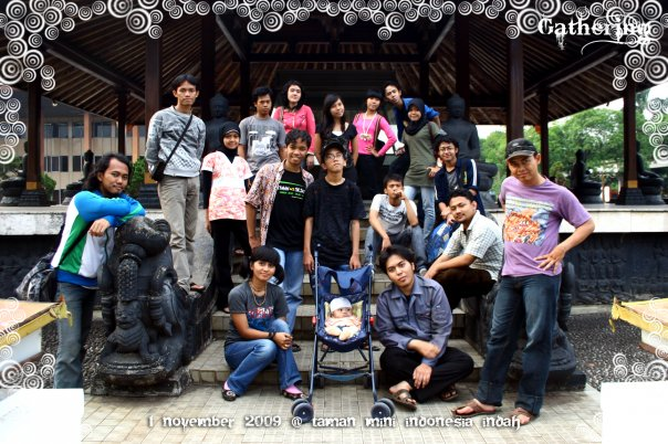 Penampakanz @ Taman Mini Indonesia Indah