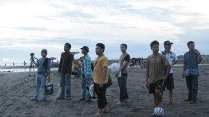 Mejeng di Pantai Parangtritis Yogyakarta