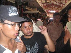 Di Dalam Pasar Beringhardjo Yogyakarta