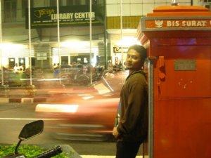 Kotak Pos di Malioboro