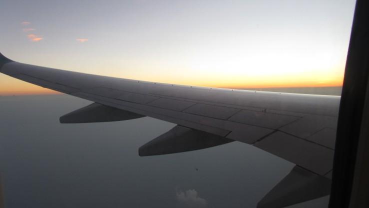 Waktu pagi di atas Laut Jawa