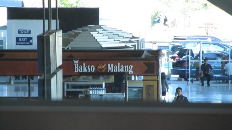 Bakso Malang di Bandara Makassar