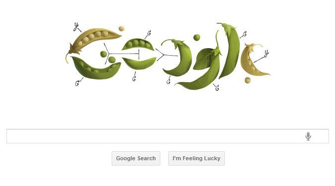 Google Gregory Mendel