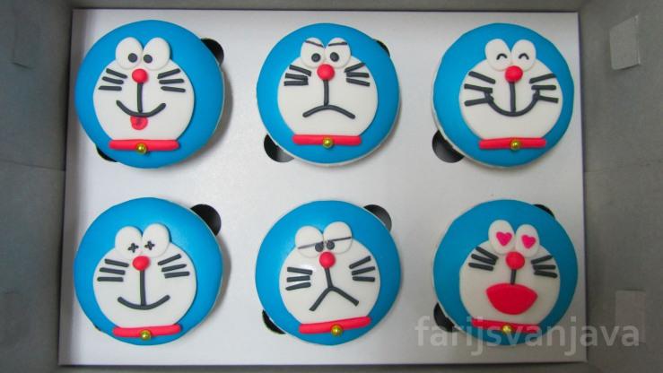 Koleksi Cupcake Doraemon Edisi Ekspresi Wajah 2