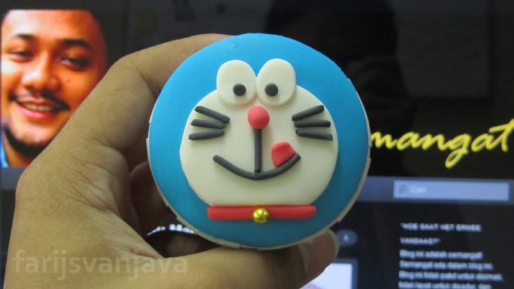 Cupcake Doraemon si Kucing Berkumis