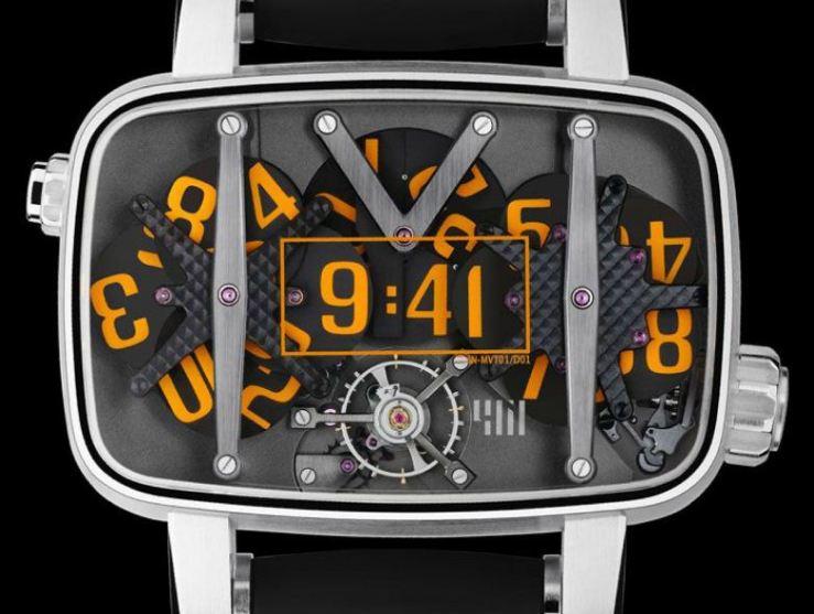 4N MVT01/D01 Watch