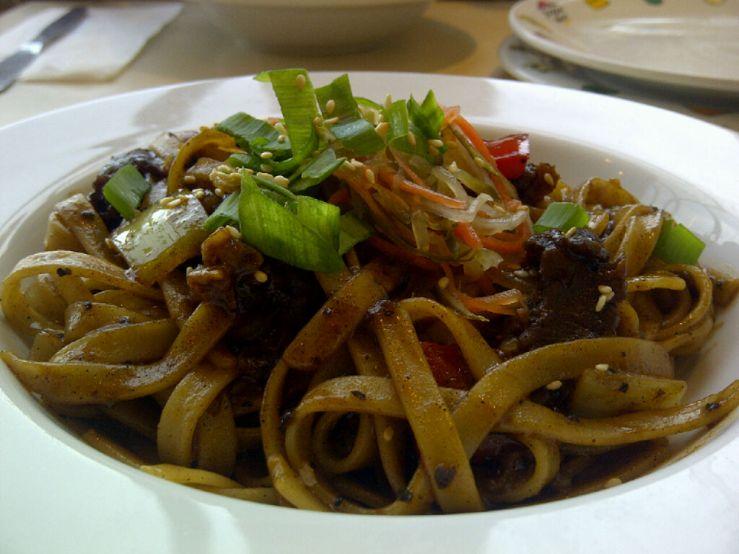 Black Pepper Beef Fettucine
