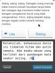 WordPress for BlackBerry - Kolom Komentar di Reader