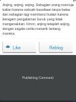 WordPress for BlackBerry - Kolom Komentar di Reader (Publishing Comment)