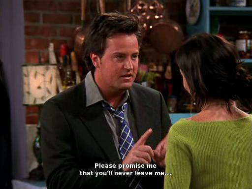 Chandler ke Monica #1