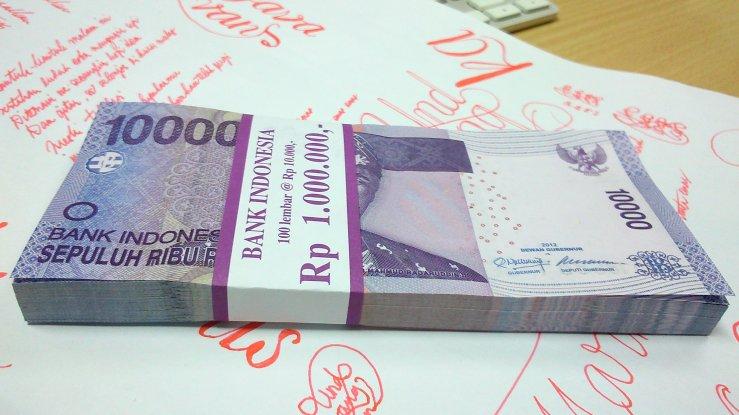 Uang baru pecahan Rp10.000,00
